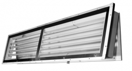 281 (8Ft.)  |  Panel Mount Vapor/Dust Proof Fluorescent Light Fixture