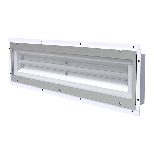 LE485E  |  Front Access Industrial LED Paint Booth Light Fixture