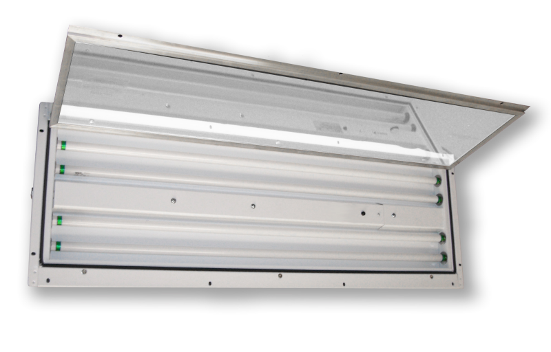 Slim Light LED  |  Vapor/Dust Proof LED Paint Booth Light Fixture