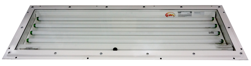 400SLB  |  Inside Access Fluorescent Paint Booth Light Fixture