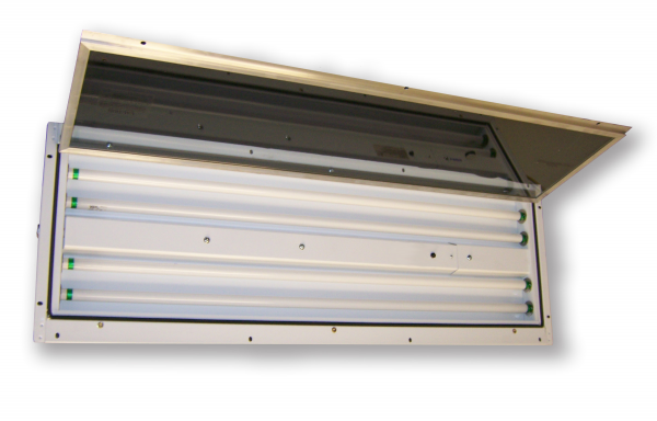 Slim Light  |  Vapor/Dust Proof Fluorescent Light Fixture