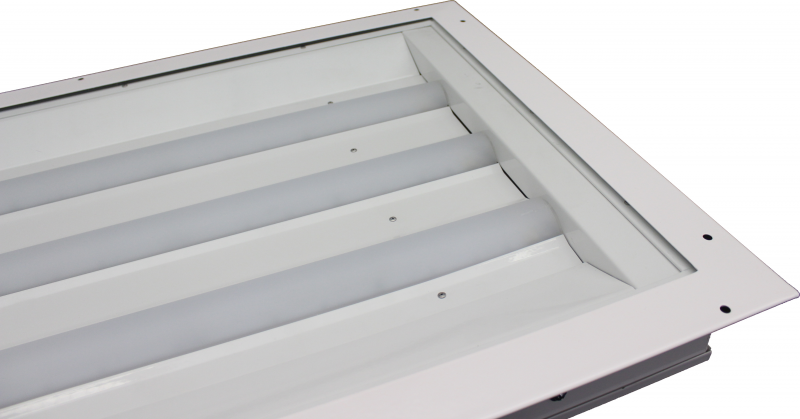 LE482  |  Rear Access Industrial LED Paint Booth Light Fixture