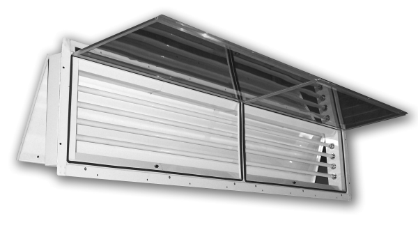 280 (8Ft.)  |  Panel Mount  Vapor/Dust Proof Fluorescent Light Fixture
