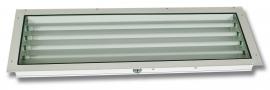 400  |  Panel Mount Rear Access Paint Booth Fluorescent Light Fixture