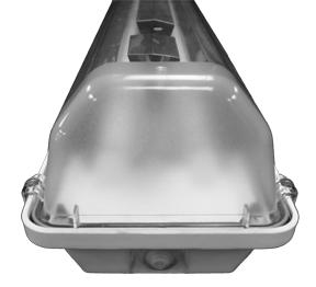 376  |  Wet/Damp Fluorescent Light Fixture