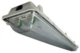 376  |  Wet/Damp Fluorescent Light Fixture