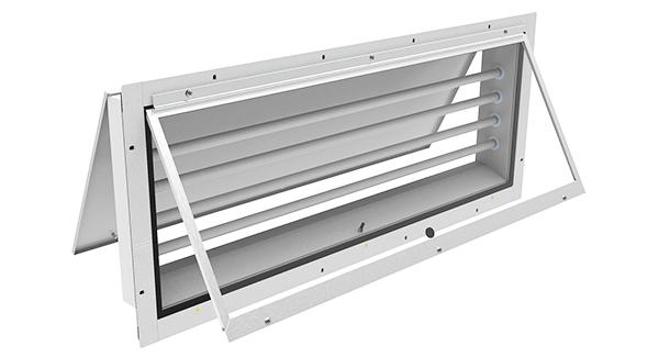 260 LED  |  Panel Mount Vapor/Dust Proof LED Paint Booth Fixture
