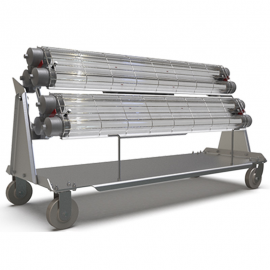 Explosion Proof Light Cart | Light Cart for Explosive Environments