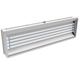 241 LED  |  Rear Access Vapor/Dust Proof LED Paint Booth Light Fixture