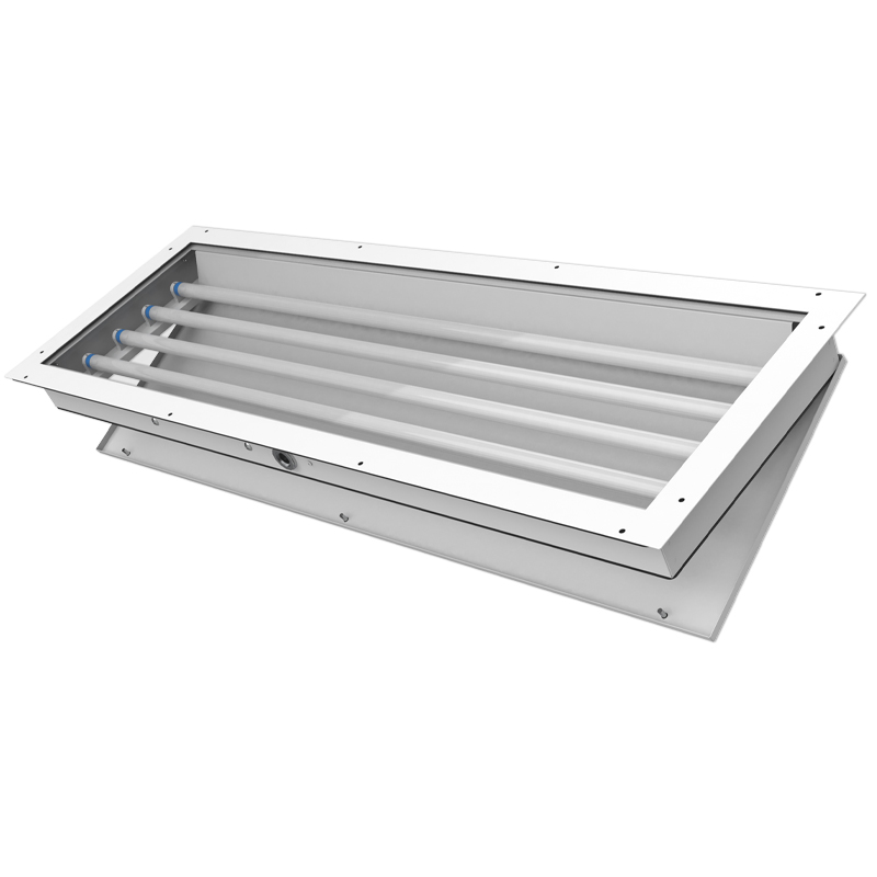 400 LED  |  Panel Mount Rear Access Paint Booth Light Fixture