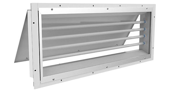 261 LED  |  Panel Mount Vapor/Dust Proof LED Paint Booth Fixture