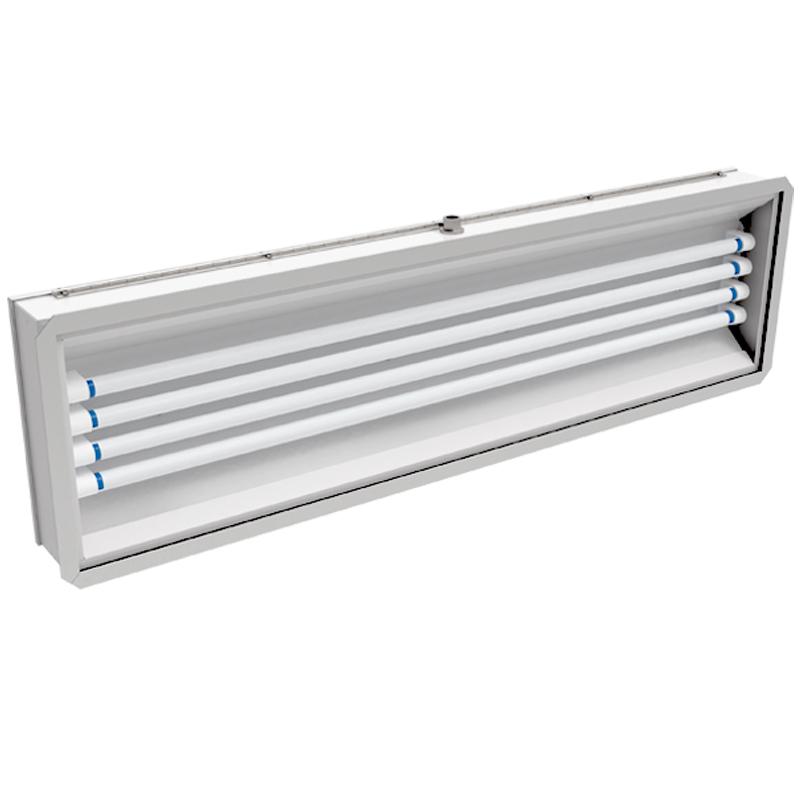 241 LED  |  Rear Access Vapor/Dust Proof LED Paint Booth Light Fixture